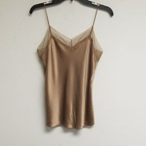 Vince Tan Top with Straps Size XS/ TP